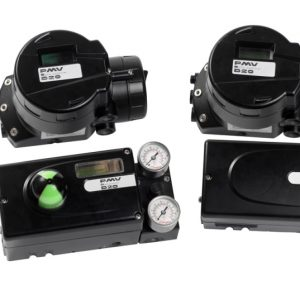 Accessories - Digital & Analog Positioner, Limit Switch & Solenoid Valves